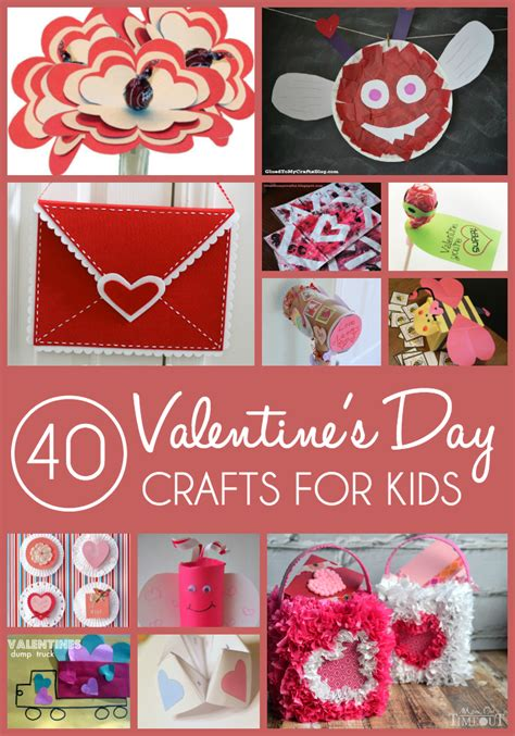 valentines day crafts for toddlers 40 crafts for