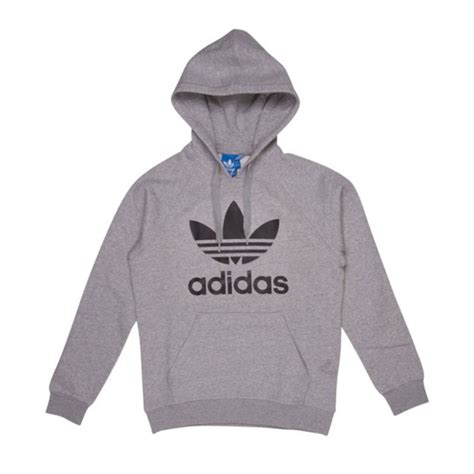 Sweater Pria Adidas Black Grey Hoodie Sweater Gray Adidas Hoodie Grey Adidas Hoodies Adidas
