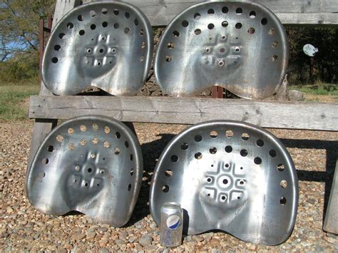 metal tractor seats four steel tractor metal farm machinery stool seat s ne