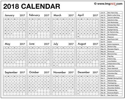 United Kingdom Uk Kalender 2018 2018 Printable Calendar Template Excel Pdf Ms Word