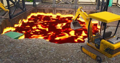fortnites dusty divot lava predictions  season  polygon