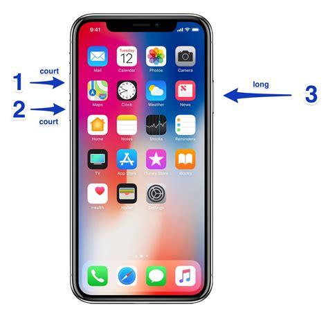 comment 233 marrer l iphone x xs ou xr