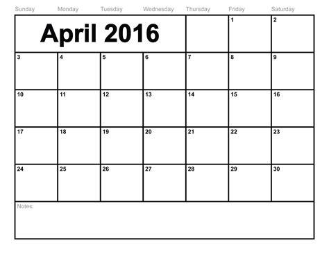 create a blank calendar in excel calendar template 2016