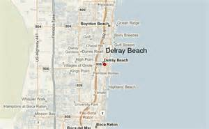 where is delray florida on the map delray location guide