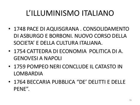 illuministi italiani l illuminismo europeo