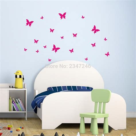 childrens butterfly bedroom accessories butterfly wall stickers diy wall backdrop vinyl poster