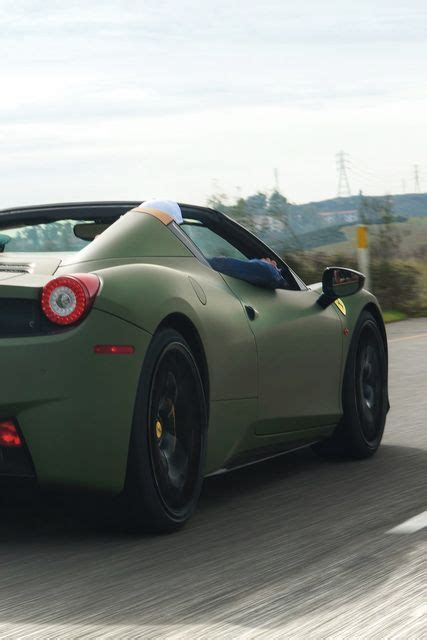 matte green ferrari ferrari matte military green army pinterest military
