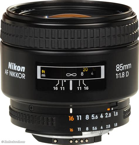 nikon 85mm f 1 8 af d review