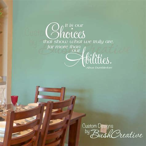 harry potter wall stickers wall decal harry potter quote dumbledore 000 36x22 5 large