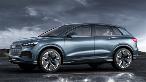 q4 e tron concept previews audi s first ev based on meb