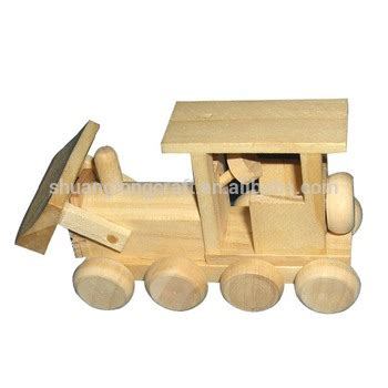 Wooden Toy For Kids Handmade Wood Children Small Toy Cars