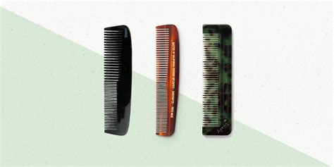 mens hair products to use with a comb best hair combs for men askmen