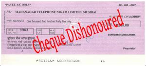 cheque dishonoured a step by step guide for recourse