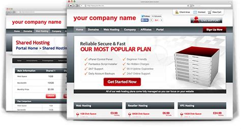 whmcs custom template whmcs templates ruby host a suttee web hosting