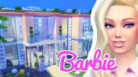 dream house builder online the barbie dreamhouse the sims 4 build viyoutube