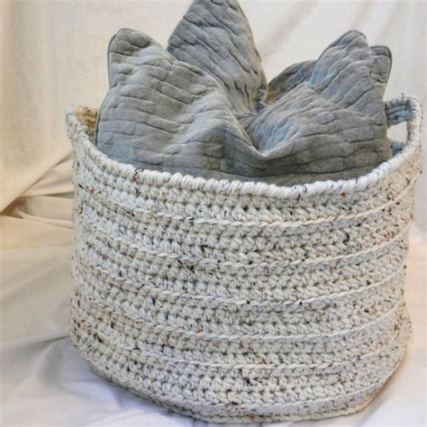large basket for storing throw pillows items similar to large crochet basket oatmeal ecru beige