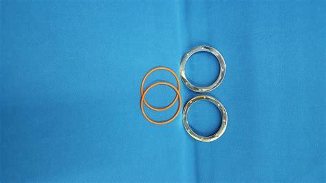 Cincin Single Pholised Ring lens ring smooth polished single motolight