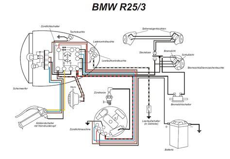schaltplan bmw r25 3