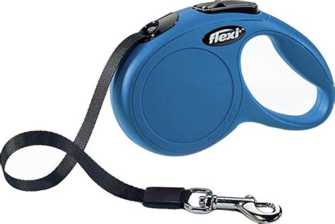 small leash flexi new classic retractable leash blue small 16 ft original chewy