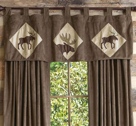wildlife curtains 17 best images about cabin window treatments on pinterest