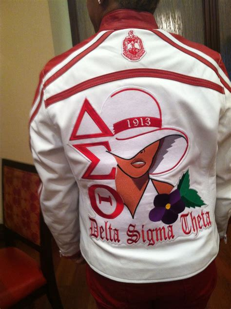 sorority jacket design online 17 best images about delta sigma theta on pinterest