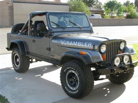 scrambler jeep years jeep cj8 cj 8 scrambler frame restoration 4 2l mopar