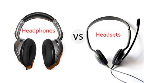 Headphones Headsets I Tech by Headsets Versus Headphones How They Difference