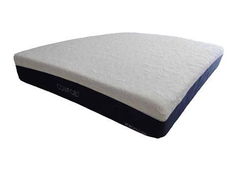 colchon memory foam colch 243 n memory foam comfort 26cm matrimonial box
