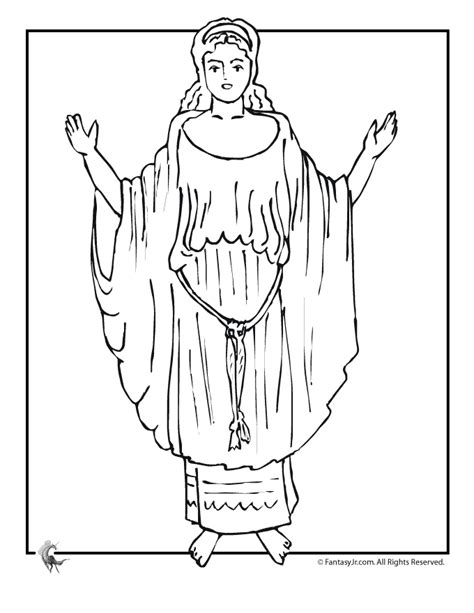 free coloring pages of aphrodite goddess