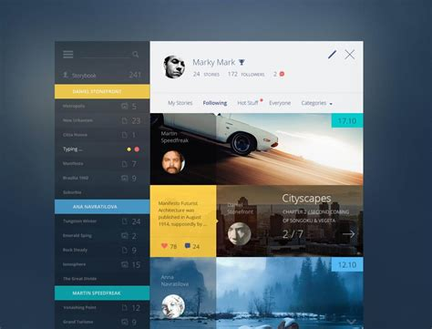 design inspiration stories 20 inspirational dashboard designs noupe