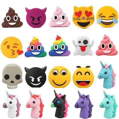 imagenes de kawaii emoticons 8800mah unicorn cartoon emoji portable phone charger power
