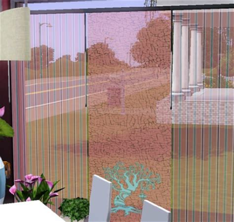 japanese panel curtains my sims 3 blog curtain panel japanese trees by samelo22