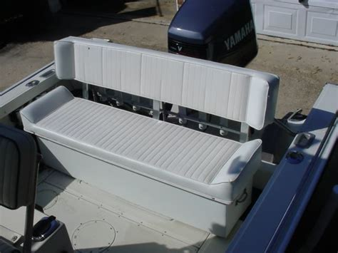how to make a boat bench seat adding a bench back seat the hull truth boating