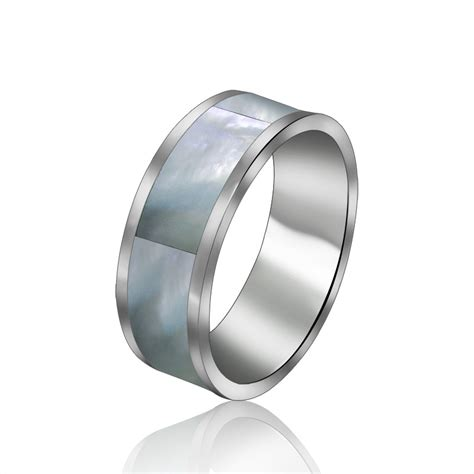 fashion jewelry stainless titanium steel rings silver