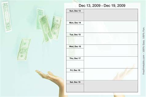 Printable Calendar Weekly December 2014 Printable Weekly Calendar December 2014 Page 2 New