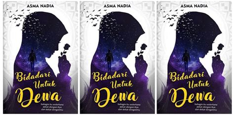 Buku Novel Bidadari Untuk Dewa Paket Berbagi gratis buku bidadari untuk dewa karya asma