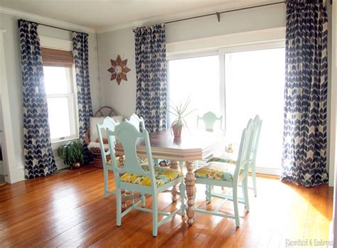 Diy Dining Room Curtains Dining Room Curtains At Last Reality Daydream