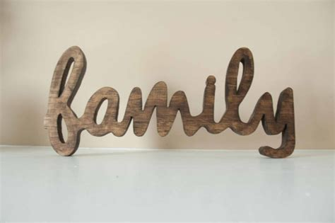 family wood sign custom made home decor gallery wall