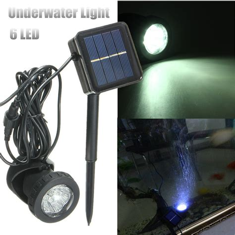 Underwater Solar Pond Lights Solar Power Submersible Underwater L Led Light Garden