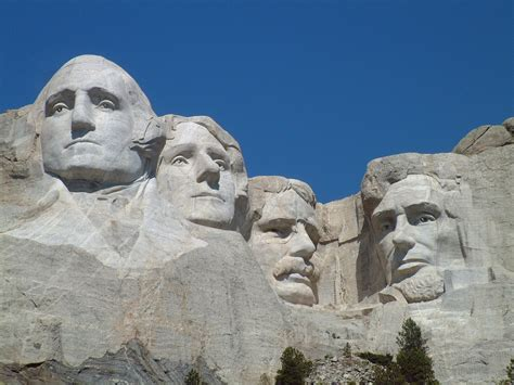 Mount Rushmore | carved by dynamite massive founding fathers at mt