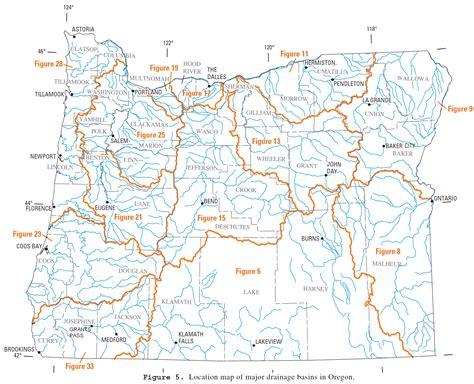 map of oregon river list of rivers of oregon