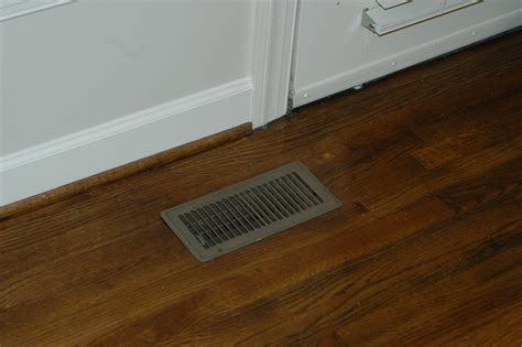 Floor Vent by Before After Hardwood Flooring Photos All Wood