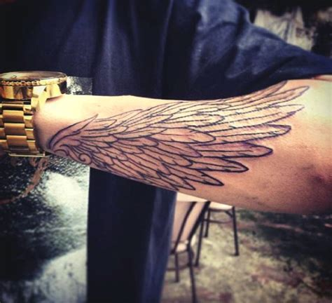 wing wrist tattoos top 100 best wing tattoos for designs that elevate