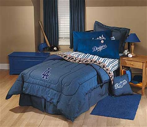 dodger crib bedding los angeles dodgers team denim standard pillow sham