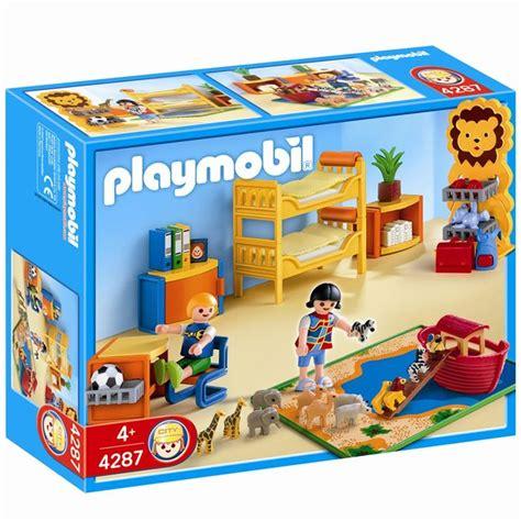 playmobil chambre enfant playmobil 4287 chambre des enfants achat vente univers