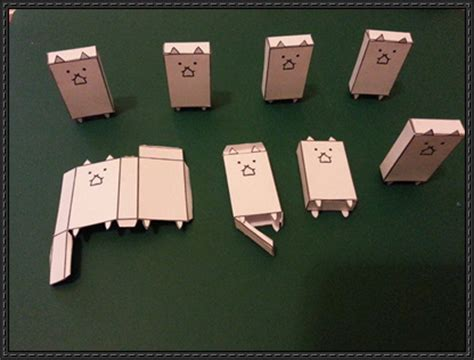 Paper Craft Square - new paper craft battle cat free paper on
