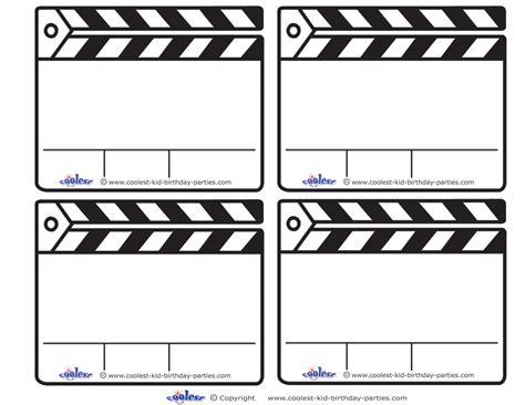 Clapboard Template Clipart Best Clapboard Template