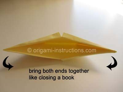 How To Make A Origami Snapper - origami snapper folding