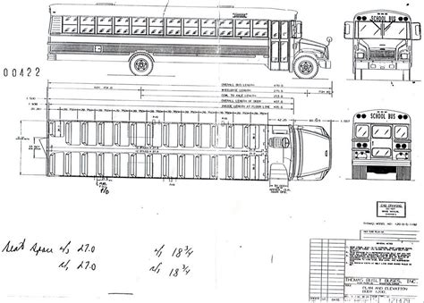 Winnebago Rialta Rv Floor Plans by Interior Dimensions Of A Bus Google Search Bus