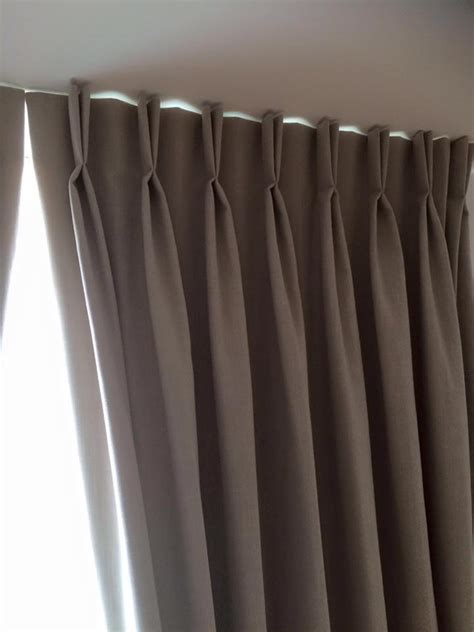 pleated blackout curtains twin pleat blackout curtains elizabeth court nw1